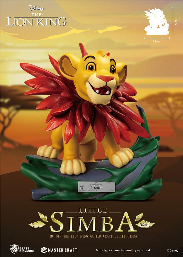 Little Simba Disney (The Lion King) Master Craft Statue by Beast Kingdom Toys