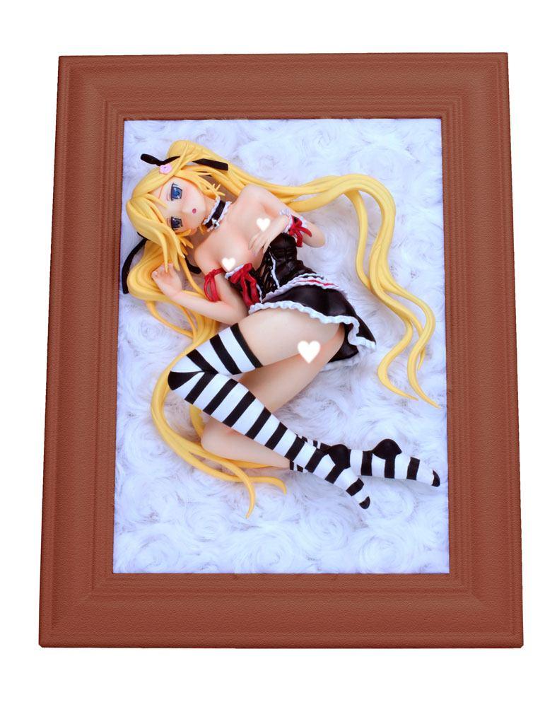 Kanojo x Kanojo x Kanojo PVC Statue 1/7 Mafuyu Orifushi Black Ver. 13 cm