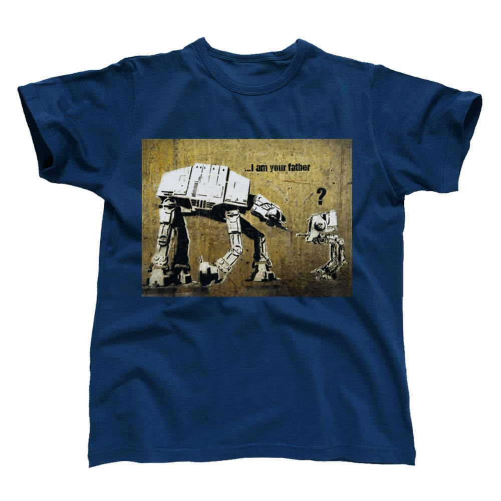 Banksy T-Shirt At-At Father Size S