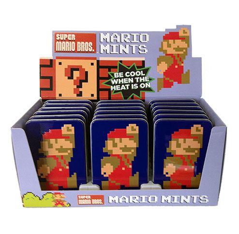 Nintendo Tins Super Mario Bros 8-Bit Mints Display (18)