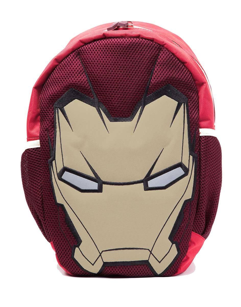 Captain America Civil War Backpack Iron Man Mask