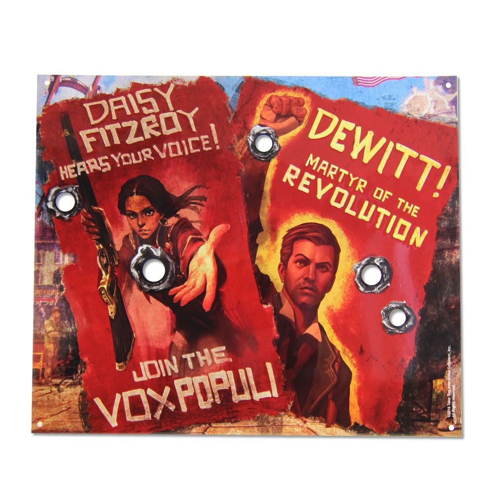 BioShock Vox Revolution Tin Sign 25 cm