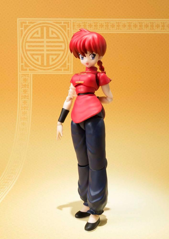 Ranma 1/2 S.H. Figuarts Action Figure Ranma Saotome (Girl Version) 13 cm