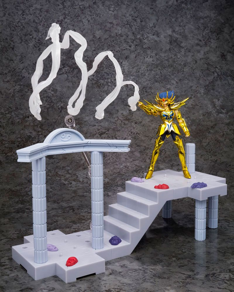 Saint Seiya D.D.Panoramation Action Figure Temple of the Giant Crab Cancer Deathmask 10 cm
