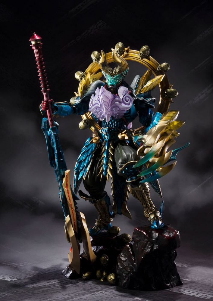 Monster Hunter S.H. Figuarts Action Figure Monster Hunter Evil God Awakening Zinogre 16 cm