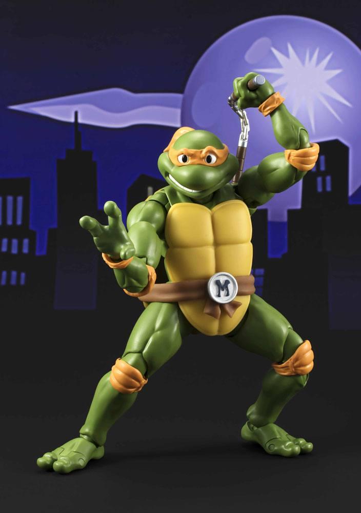 Teenage Mutant Ninja Turtles S.H. Figuarts Action Figure Michelangelo Tamashii Web Exclusive 15 cm