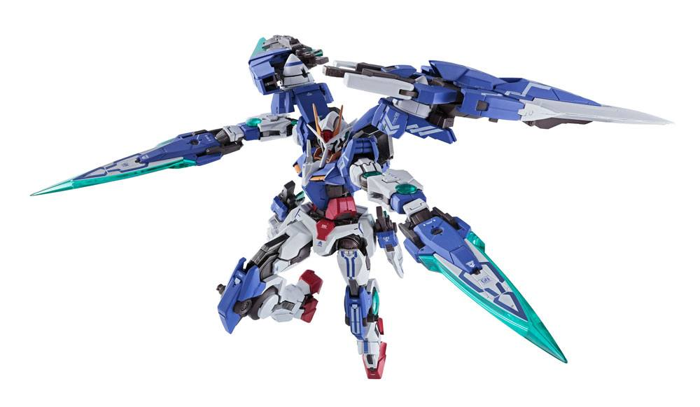Mobile Suit Gundam 00V Battlefield Record Metal Build Action Figure Gundam Seven Sword/G 18 cm