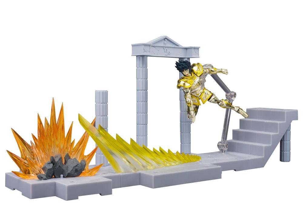 Saint Seiya DDP Action Figure Glittering Excalibur in the Palace of Rock Goat Capricorn Shura 10 cm
