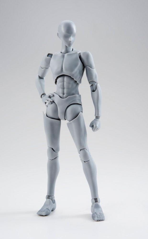 S.H. Figuarts Body Kun Action Figure Takarai Rihito DX Set Gray Color Ver. 14 cm