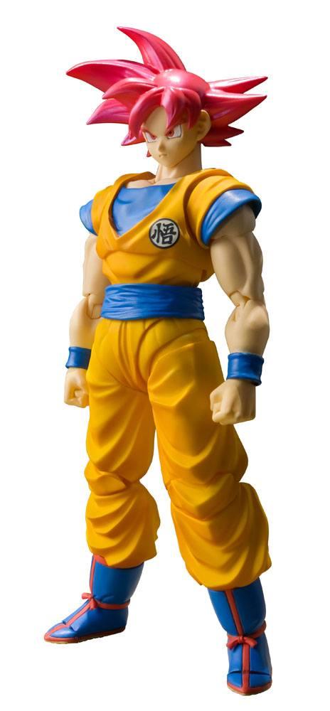 Dragonball Super S.H. Figuarts Action Figure SSGSS Son Goku Tamashii Web Exclusive 14 cm