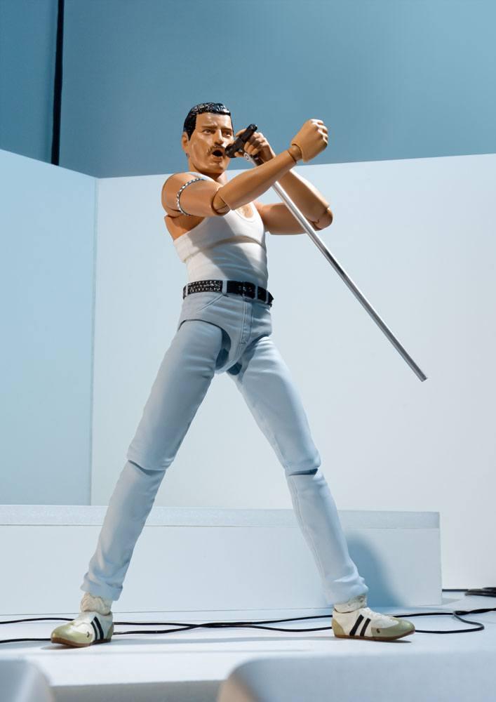 Freddie Mercury S.H. Figuarts Action Figure Live Aid Ver. 15 cm