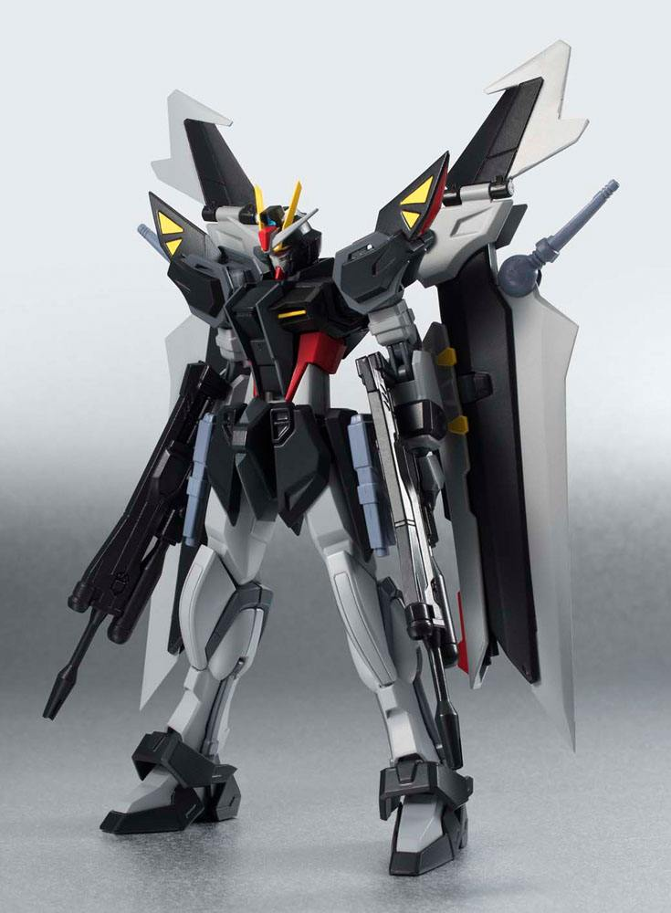 Mobile Suit Gundam SEED C.E. 73 Stargazer Robot Spirits Action Figure Side MS Strike Noir 14 cm
