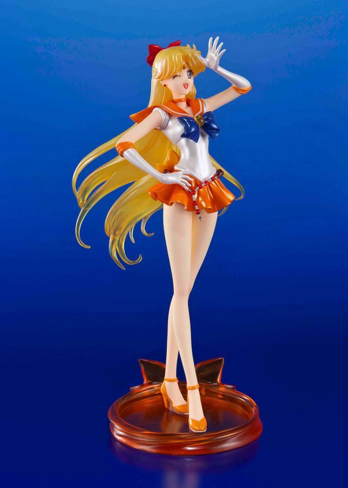 Sailor Moon Crystal FiguartsZERO PVC Statue 1/10 Sailor Venus Tamashii Web Exclusive 19 cm