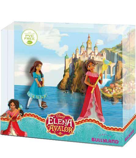 Elena of Avalor Gift Box with 2 Figures Elena & Isabel 8 - 10 cm