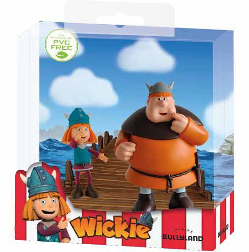 Vicky the Viking Gift Box with 2 Figures Vicky & Faxe 7 - 9 cm