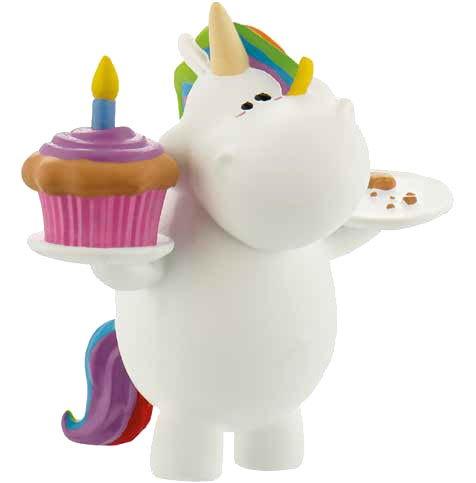 Chubby Unicorn Figure Birthday-Chubby 6 cm
