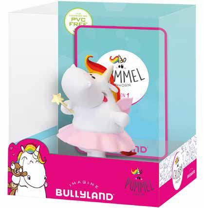 Chubby Unicorn Figure Fairy Single Pack 6 cm
