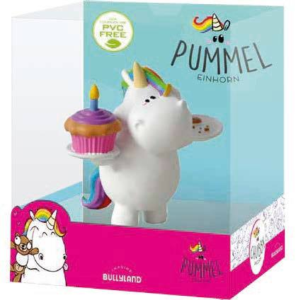 Chubby Unicorn Figure Birthday-Chubby Single Pack 6 cm