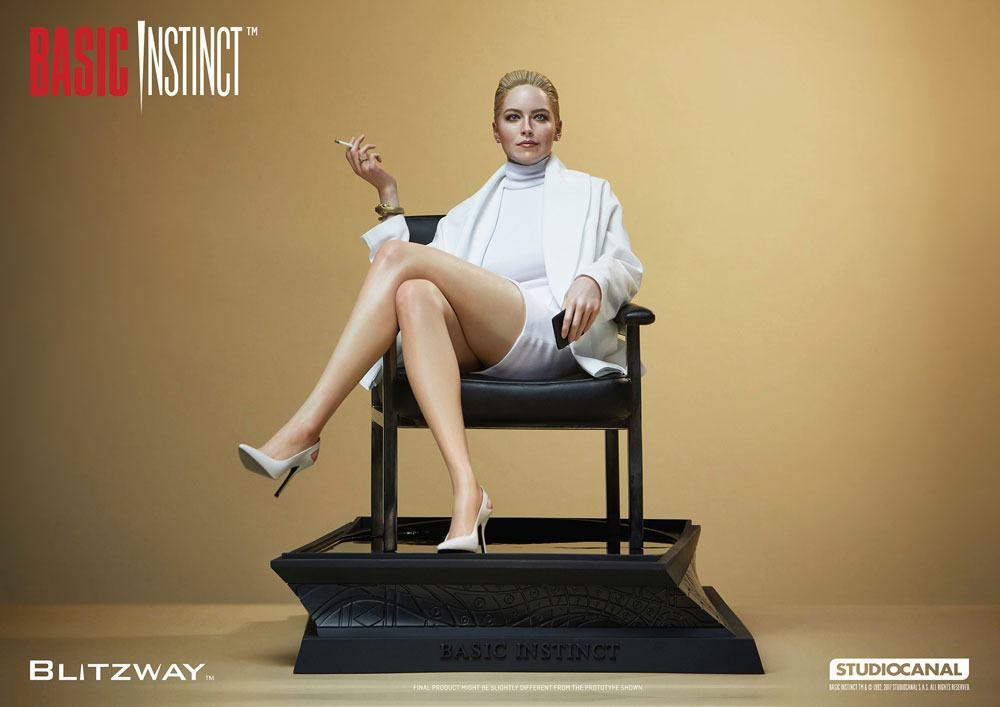 Basic Instinct Superb Scale Hybrid Statue 1/4 Sharon Stone (Catherine Tramell) 32 cm