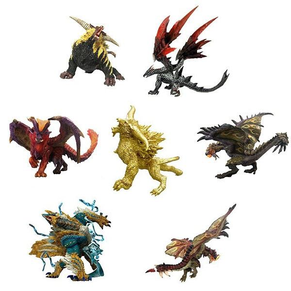 Monster Hunter Trading Figures 10 - 15 cm CFB MH Standard Model Plus Savage Ver. 2 Assortment (6)