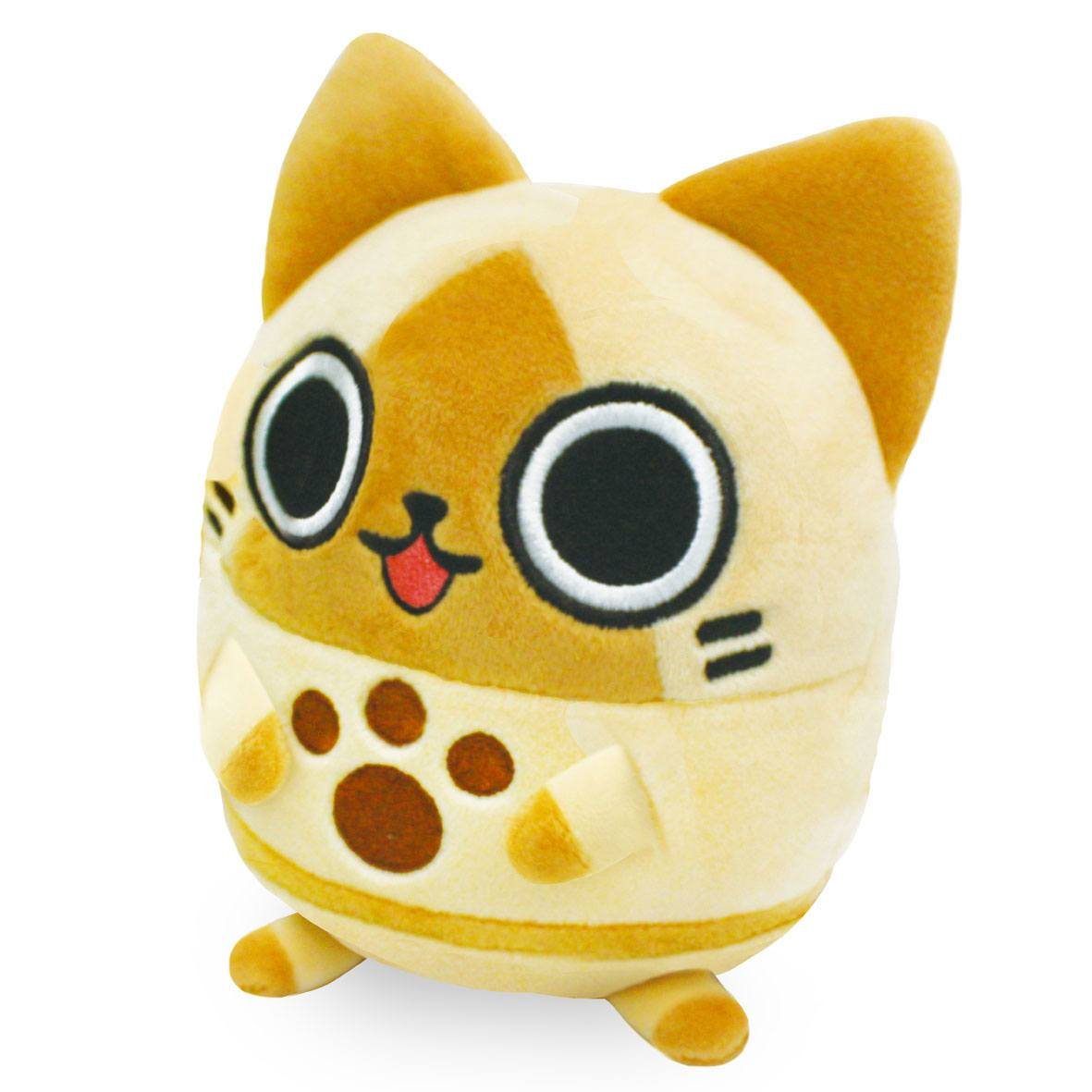 Monster Hunter Soft & Springy Plush Figure Airou 14 cm