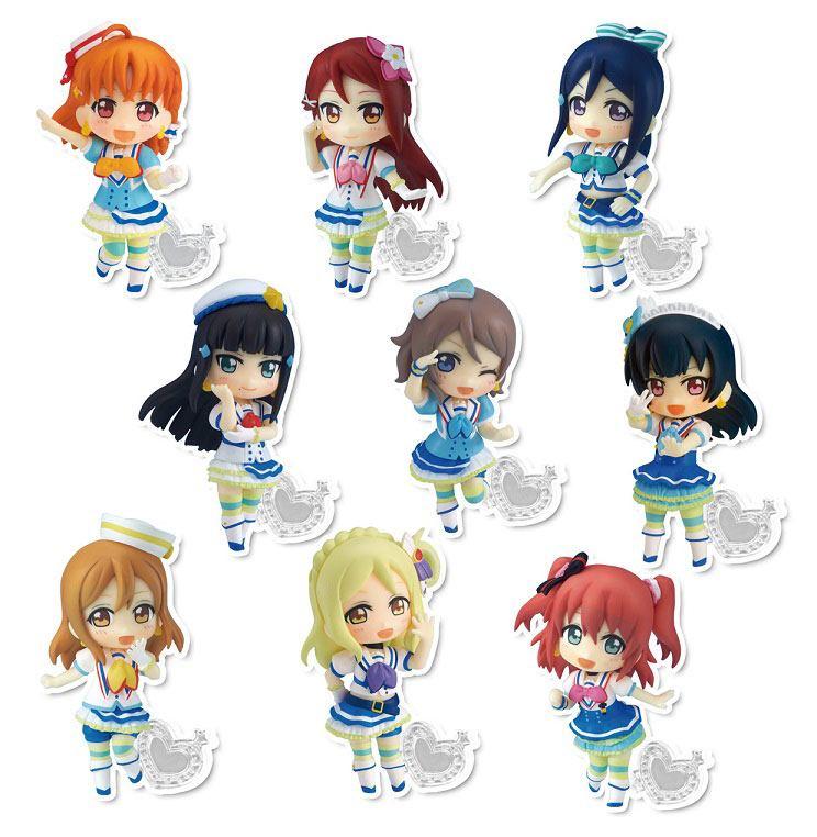 Love Live! Sunshine!! PVC Mini Figures 7 cm Assortment Toy'sworks Collection Niitengo! (9)