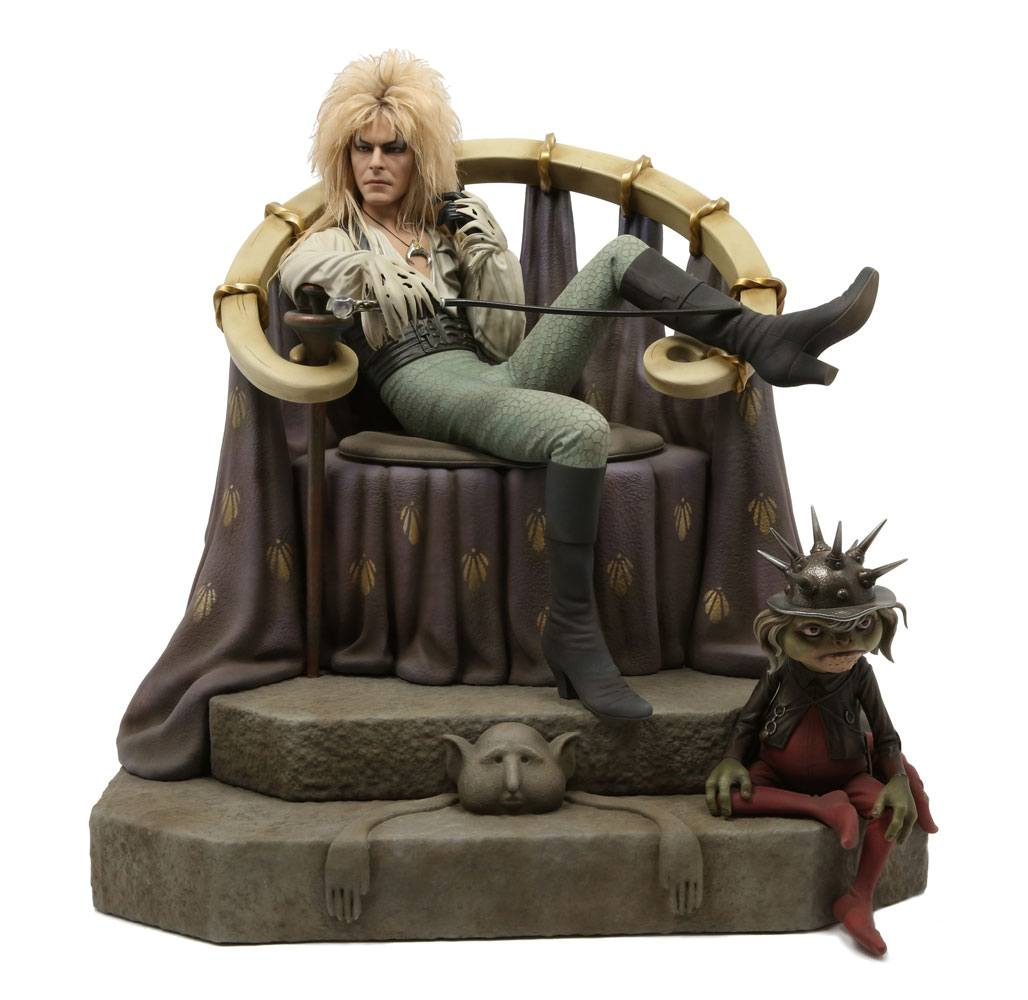 Jareth on Throne Labyrinth 1/4 Statue by Chronicle Collectibles
