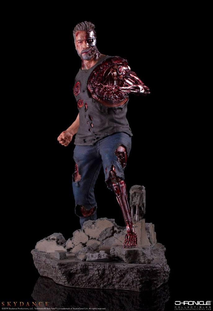 Terminator: Dark Fate Statue 1/4 T-800 46 cm