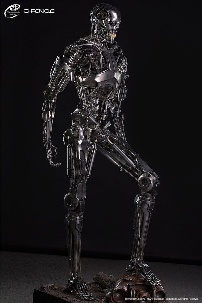 T-800 Endoskeleton Terminator Genisys Life-Size Statue by Cinemaquette