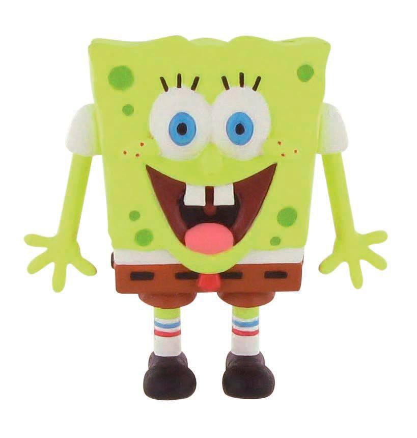 SpongeBob Square Pants Mini Figure SpongeBob smile 7 cm
