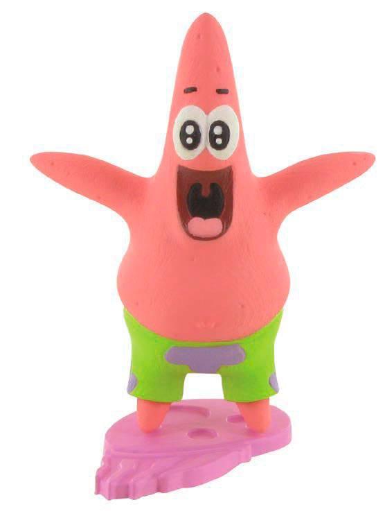SpongeBob Square Pants Mini Figure Patrick 8 cm