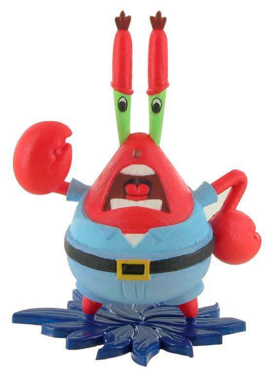 SpongeBob Square Pants Mini Figure Mr Krabs 8 cm