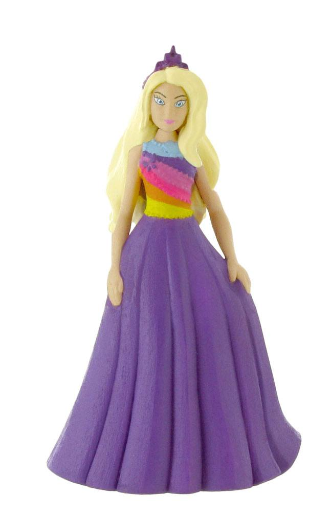 Barbie Dreamtopia Mini Figure Barbie Fantasy Purple Dress 10 cm