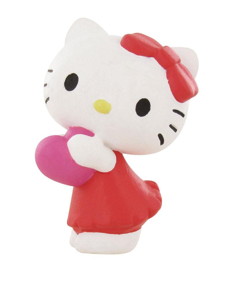 Hello Kitty Mini Figure Hello Kitty Heart 6 cm