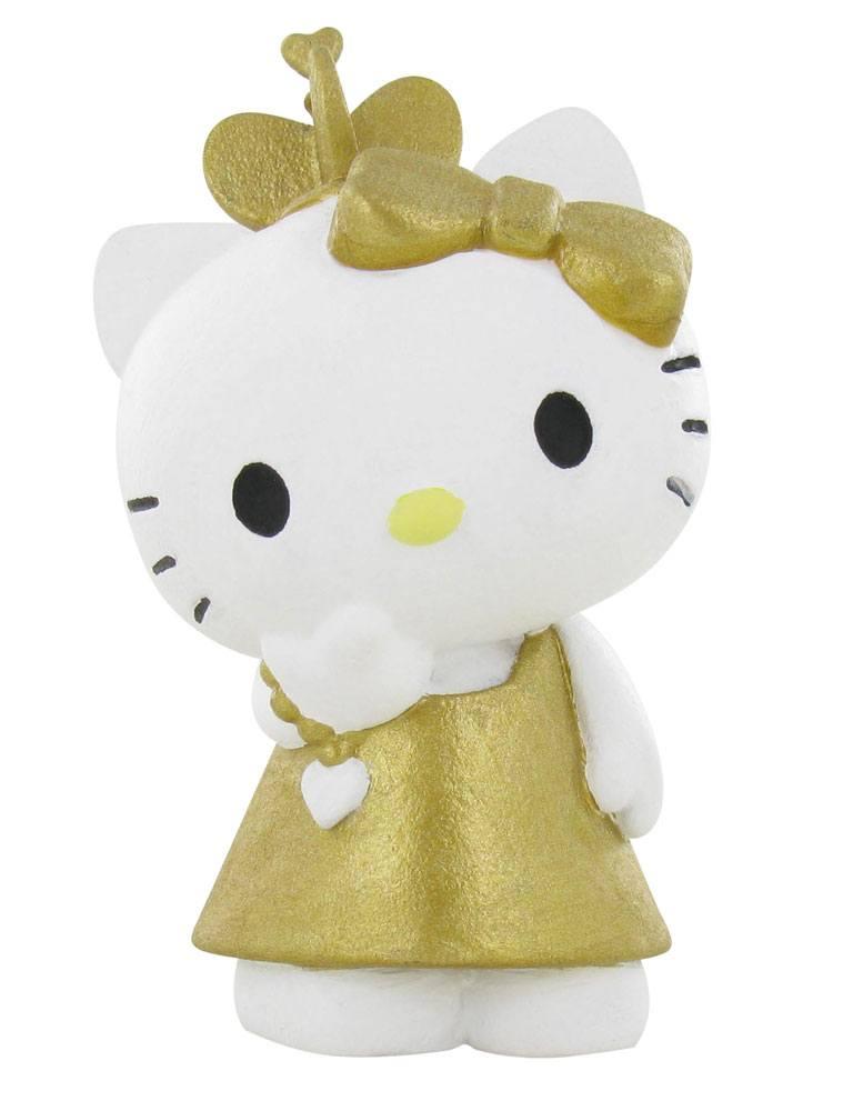 Hello Kitty Mini Figure Hello Kitty Gold 6 cm