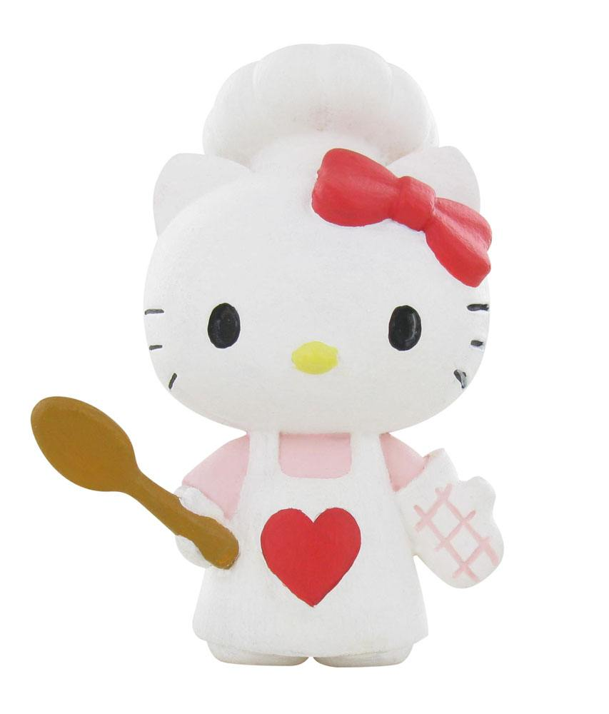 Hello Kitty Mini Figure Hello Kitty Chef 6 cm