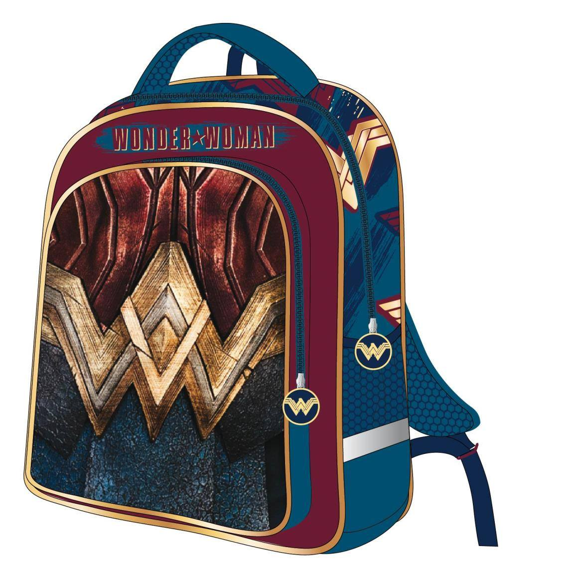 Justice League 3D Backpack Wonder Woman 31 x 41 x 13 cm