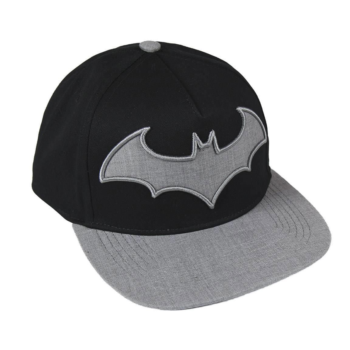 DC Comics Premium Cap Grey Batman Logo
