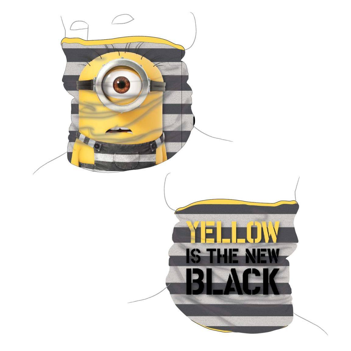 Minions Tube Scarf Yellow Is The New Black