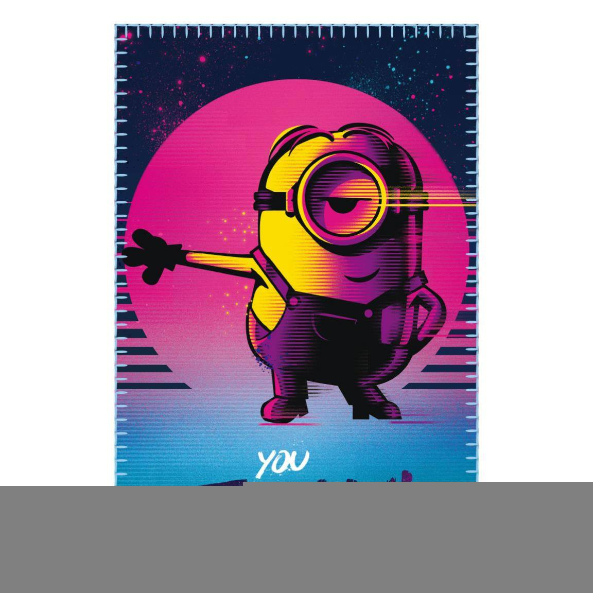 Minions Fleece Blanket You Feelin' This 100 x 150 cm
