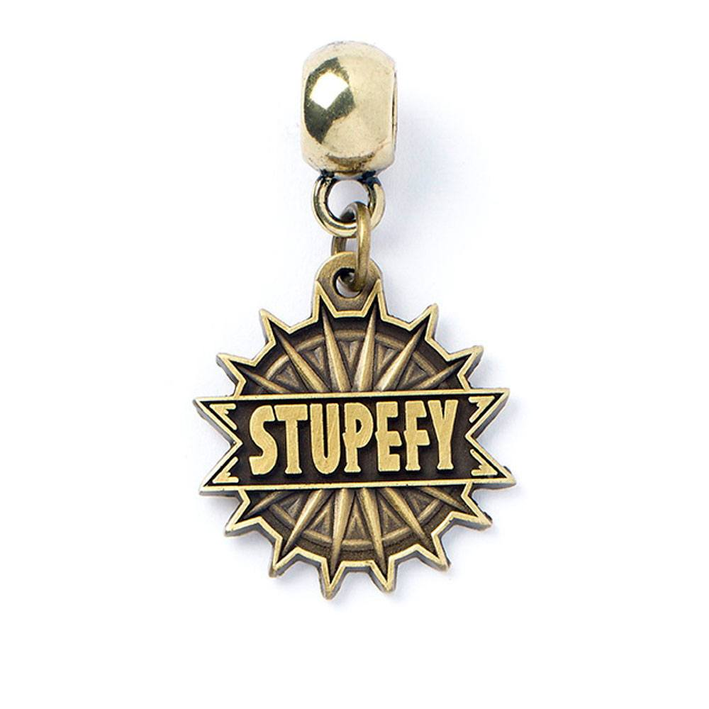 Fantastic Beasts Charm Stupefy (antique brass plated)