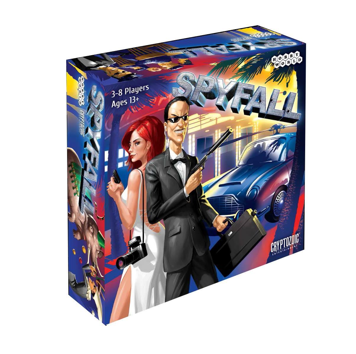 Spyfall Card Game *English Version*