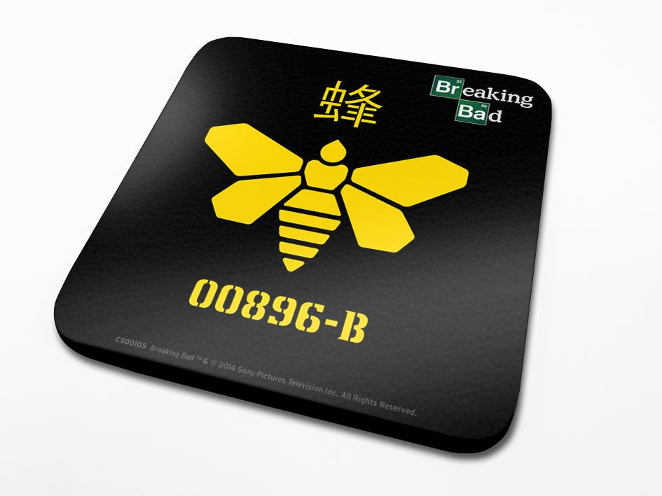 Breaking Bad Coaster Golden Moth 6-Pack