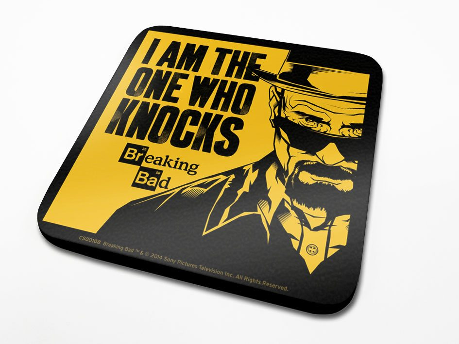 Breaking Bad Coaster I Am The One Who Knocks 6-Pack