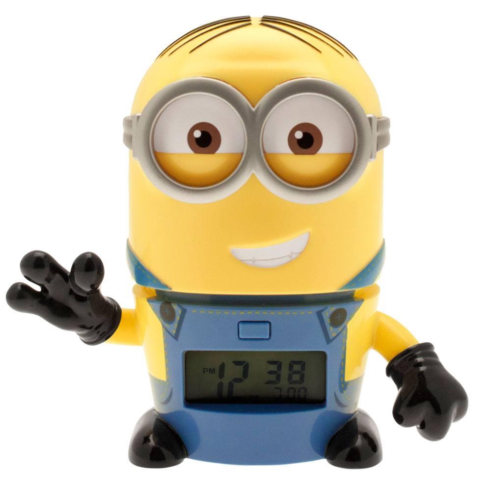 Despicable Me 3 BulbBotz Alarm Clock with Light Minion Dave 14 cm