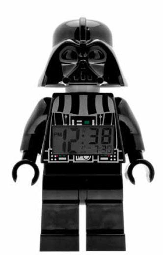 Lego Star Wars Alarm Clock Darth Vader