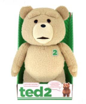 Ted 2 Animated Talking Plush Figure Clean 40 cm