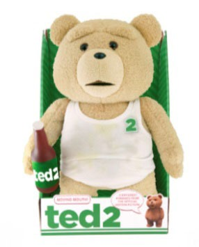 Ted 2 Animated Talking Plush Figure Tank Top Explicit 40 cm