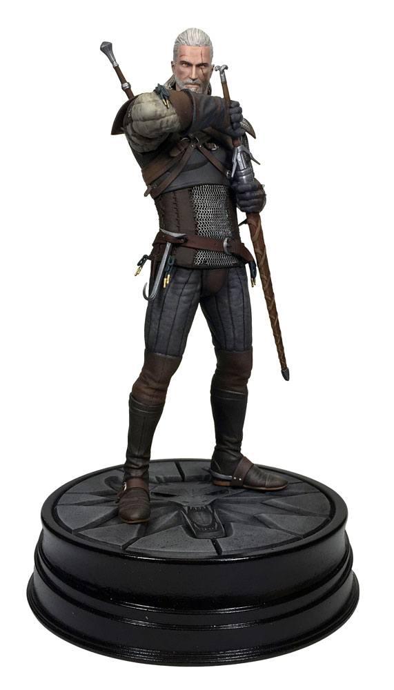 Witcher 3 Wild Hunt PVC Statue Geralt of Riva 20 cm
