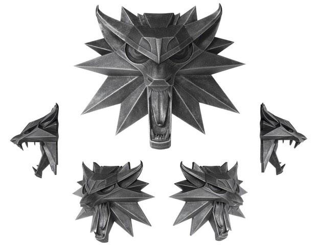 Witcher 3 Wild Hunt Wolf Wall Sculpture 15 x 15 cm